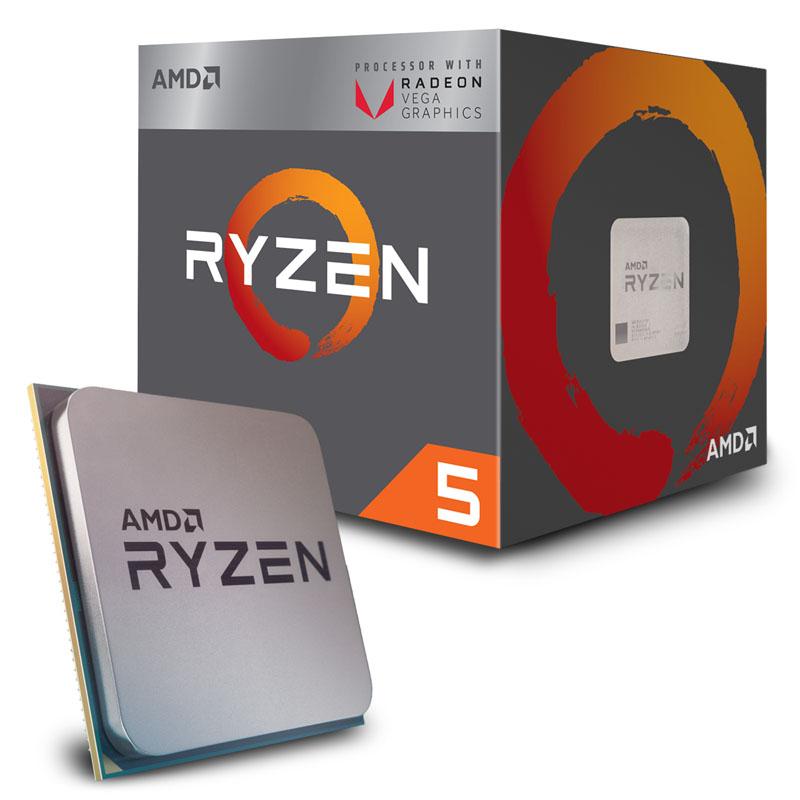 PROCESADOR AMD RYZEN 3 2200G NUEVA GENERACIÓN 4 NÚCLEOSFÍSICOS 3.6GHZ, MODO TURBO 4GHZ Y 6MB DE CACHE SOCKET AM4 14 NANOMETROS DESBLOQUEADO PARA OVERCLOCK
