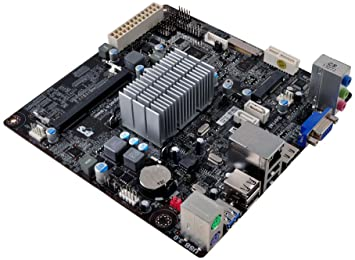 TARJETA MADRE ECS J1800, 2 SATA, USB 3.0, VIDEO VGA Y HDMI, SOPORTA HASTA 8GB DE MEMORIA RAM