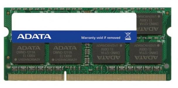 MEMORIA RAM DDR3 DE 4GB SODIMM BUS DE 1333MHZ