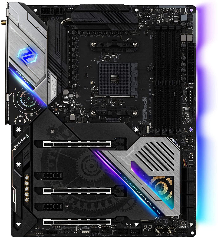 TARJETA MADRE AMD X570 CON USB 3.0, SATA-3 DE 6GB/S, HASTA 64GB DE MEMORIA RAM DDR4, PCI EXPRESS 3.0, RED GIGABIT, RANURA M.2, COMPATIBLE CON OVERCLOC