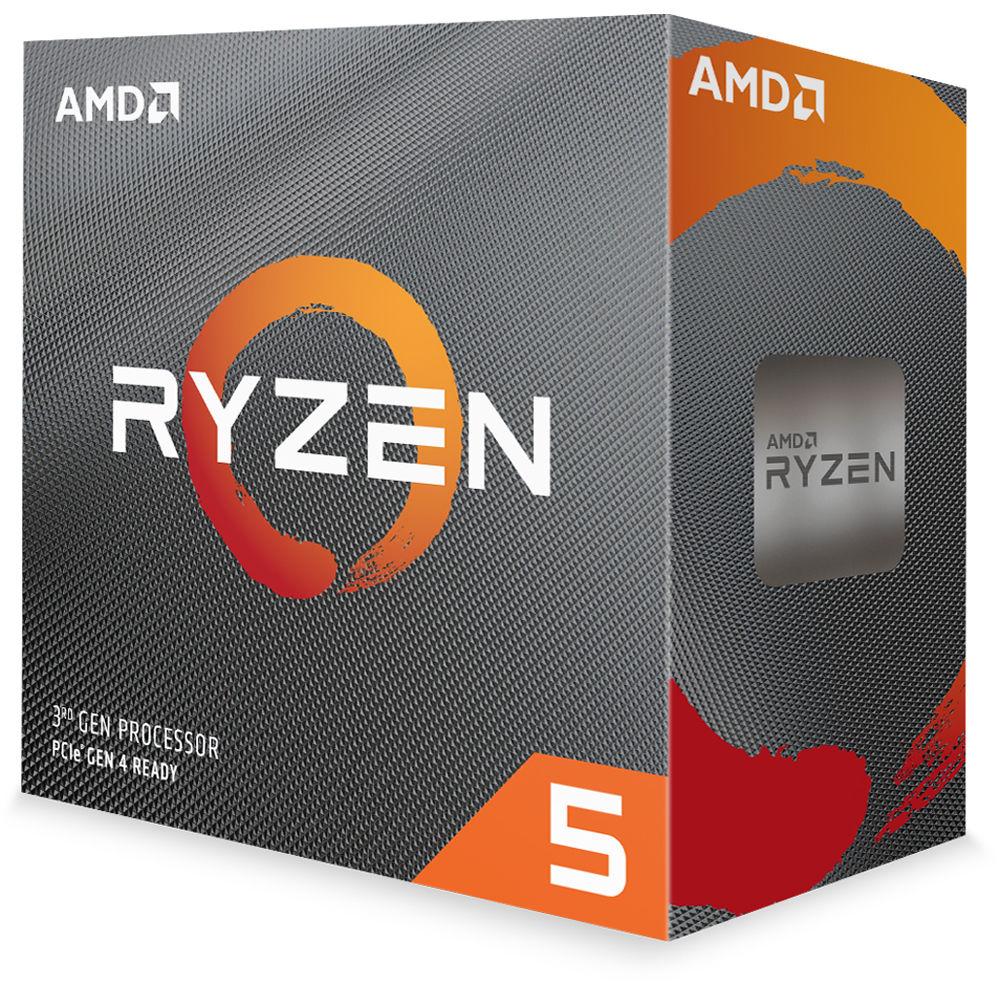 PROCESADOR AMD RYZEN 5 3600 NUEVA GENERACIÓN 6 NÚCLEOS Y 12 HILOS 3.6GHZ, MODO TURBO 4.2GHZ Y 6MB DE CACHE SOCKET AM4 14 NANOMETROS DESBLOQUEADO PARA OVERCLOCK