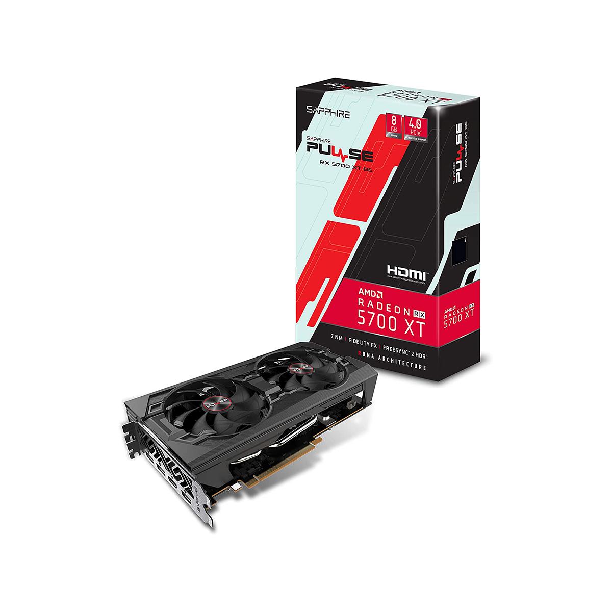 TARJETA DE VÍDEORADEON GEFORCE RX-5700 XT 8GB G-DDR6 8K Y VR REALIDAD VIRTUAL