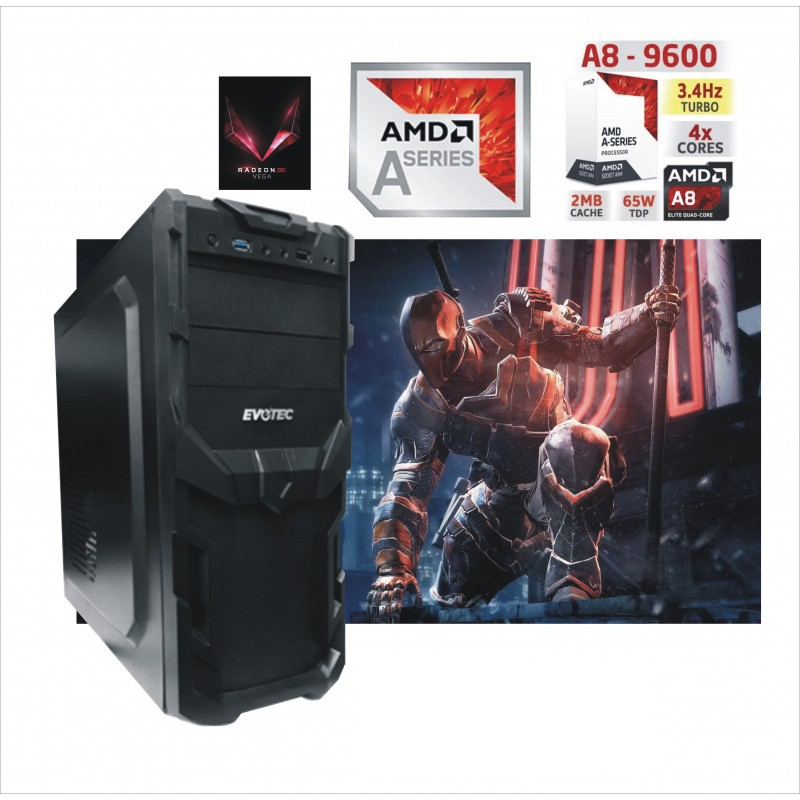 CPU AMD A8 4 NÚCLEOS DDR4