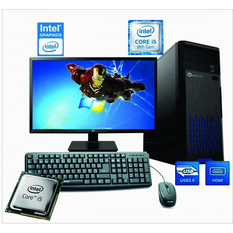 PC INTEL CORE I5-9400F NOVENA GENERACIÓN