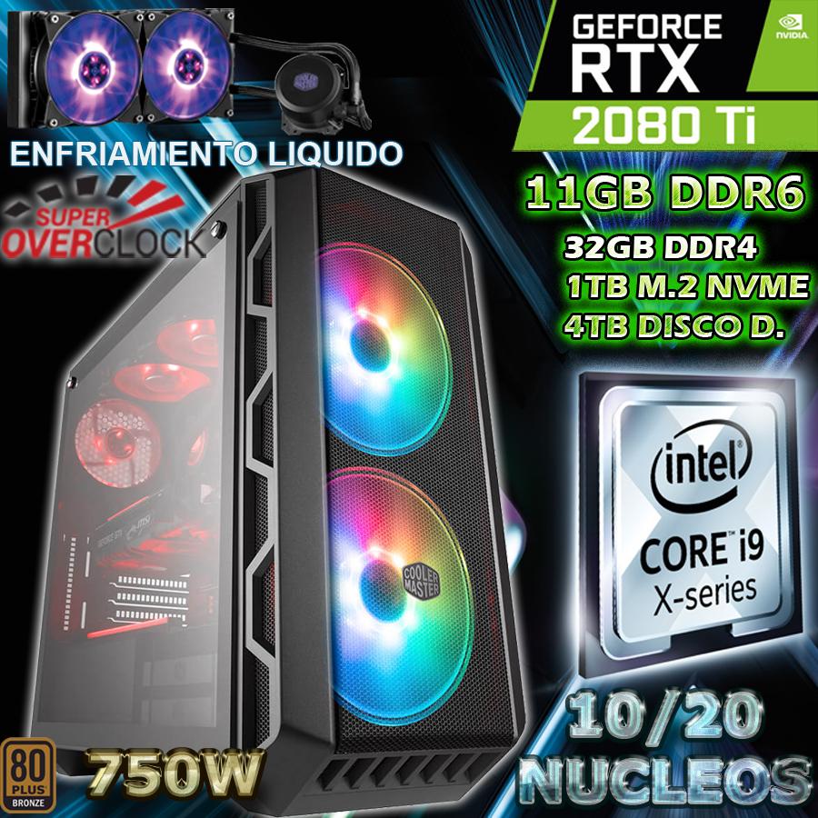 PC CORE I9-10900 NVIDIA RTX-2080TI