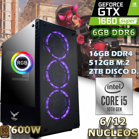 PC GAMER CORE I5-10400 6/12 NÚCLEOS
