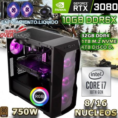 Pc gamer intel core i7 10700 816 nucleos